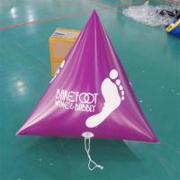 China Panton Purple Color Dive Flag & Inflatable Buoys For Lake , River on sale