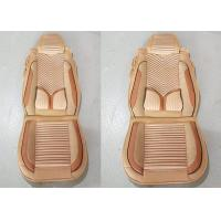 Quality Multi Color Suede Car Seat Covers , Front And Rear Car Seat Accessories No Smell for sale