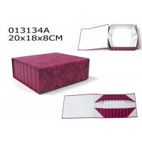 Custom square folding large gift boxes with lids storage for Small cardboard jewelry boxes with lids