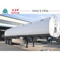 Quality Fuel Oil Tank Trailer , 40000 Liters Water Tank Trailer With 8 Compartments for sale
