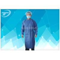 Quality Water Resistant PP Disposable Scrub Suits / Isolation Gowns with knitted cuffs for sale