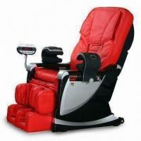 China Extendable Footrest 3D Massage Chair with 3-color VFD Display Controller on sale