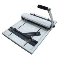 Quality Manual Creasing Machine Paper Perforator Working  With V-Shaped Counter Knife HCP315 for sale