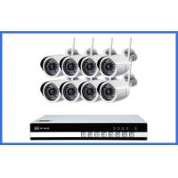 Quality 8 Ch Wireless CCTV Camera Kits Megapixel Waterproof IP 720P / 960P / 1080P for sale