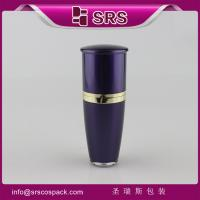 Quality L036 Drum shape 15ml 30ml 50ml 80ml 120ml manufacturing cosmetic acrylic bottle for sale