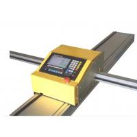 Buy cheap Portable CNC Sheet Metal Cutting Machine With Plasma / Flame Cutting Mode from wholesalers