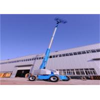 Quality Stable Telescopic Boom Lift With Buffer Device Movement Speed Automatically Restricted for sale