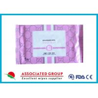 Disposable Organic Smooth Feminine privateparts Hygiene Wipes With Fresh Scent