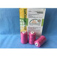 Buy cheap 100% Cone Chemical Resistance Ring Spun Polyester Yarn / Heavy Duty Sewing Thread from Wholesalers