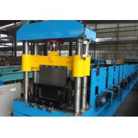 Quality 0.8 - 1.2mm Thickness Cable Tray Roll Forming Machine 11KW + 5.5KW for sale