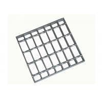 China Outdoor Mild Steel Grating Plate Rustproof Electro Chemical Polishing on sale