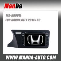 Quality 2 din Car audio for HONDA CITY 2014 LHD in-dash head units car dvd players gps satellite navigation system for sale