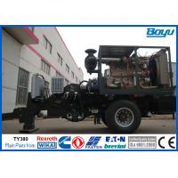 Hydraulic Cable Puller For Sale : Conductor line hydraulic cable puller of stringingequipments