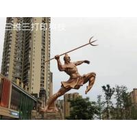 China Wax-feel,steel appearance or bronze-like bespoke personified sculpture or statue for sale