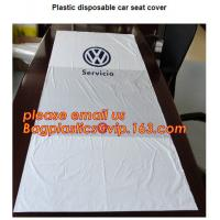 Quality Disposable seat cover on a roll Wing cover Dust broom Universal front cover Wheel screw bag Screw bag including drawstri for sale