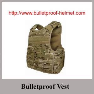 Quality Wholesale NIJ IV Desert Color Waterproof 44MAG-Resistant Bulletproof Vest for sale