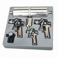 China Nine HVLP Air Spray Gun Kit with Hex Wrench, AR 150 Regulator and Filter on sale