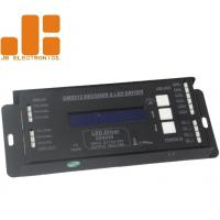 Quality 4 Channel PWM Output LED DMX512 Decoder LED Driver for RGBW Strip Lighting for sale