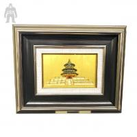 Buy Indoor  Colorful Square  Metal Frame Art Plating Finished Decorative at wholesale prices
