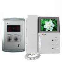 Quality B / W, CCD, CMOS Video Audio And Video Unlock Intercom Infrared Door Entry Phone For Villa for sale