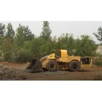 Buy cheap 0.6 Cubic Meter  Wheel Loader for Underground Mining Project, Mini Scoop Tram from Wholesalers