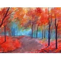 Quality Needle Arts Craft Diamond Painting Landscape Series Cross Stitch Kits 3D Diy Diamond Embroidery 40X50CM For Home for sale