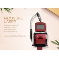 China 755nm Wavelength Pico Laser Tattoo Removal Machine For Pigment Acne Treatment on sale