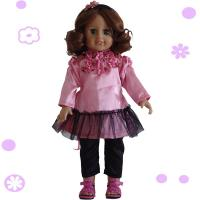 China 2015 new toys for kid american girl doll 18 inch/hot sale girl doll joint movable/dress dolls online on sale