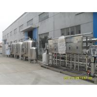 Quality Semi - Auto 304 Stainless Steel Water Purifying Machine For Drinking Water 20 Ton for sale