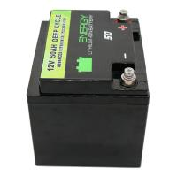 China 12v 50ah li-ion battery Lithium LFP Battery with BMS for solar energy storage home battery on sale