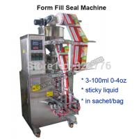 China automatic tomato paste packing machine ice pop ice lolly liquid strip stick, lolly bar filler sealer on sale