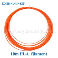 Buy cheap Fluo - orange 1.75mm PLA 3D Printer Filament  , 3d printing pen filament from Wholesalers