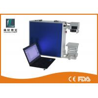 Quality 650nm Diode Fiber Laser Etching Machine With CE LCD Touch Industrial Printer for sale