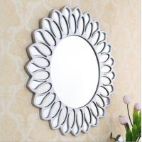 Quality Art Deco Round  Bevelled  Glass Wall Mirror For Bedroom Lounge Bathroom for sale