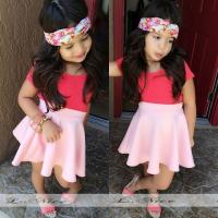 Quality High Quality And Cheapest Price For Girl 2pcs Set FASHION HOT SELL for sale