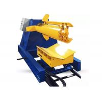 Quality Heavy Material Sheet Metal Decoiler , Single Head Automatic Decoiler Uncoiler for sale