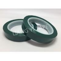 Quality Flame Retardant Green Polyester Mylar Tape Pressure Adhesive Type for sale