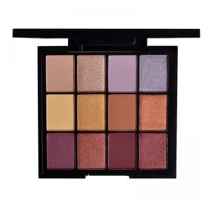 Buy cheap High Pigment Loose Powder Eyeshadow , 12 Colors Makeup Eyeshadow Palette Custom from wholesalers