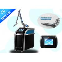 Quality Real 755nm 	Picosecond Laser Tattoo Removal For All Color Tattoo Removal and Black Doll for sale