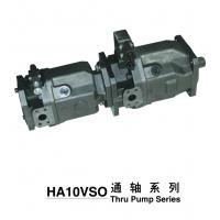 Perbunan Seal Flow Control Tandem Piston Pump For Excavator , Truck