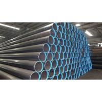 Quality Q235B Q345B Hollow Steel Pipe , ERW Black Round Steel Welded Pipe for sale
