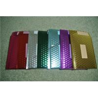Quality Recyclable Metallic Glamour Bubble Mailers , Durable Padded CD Mailers 175x165mm for sale
