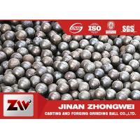 Quality Forged And Cast Grinding Balls For Mining / grinding media steel balls for sale