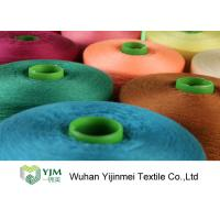 Buy 100% Virgin Bright Dyeable Polyester Sewing Threads 60/2 Polyester Core Spun at wholesale prices