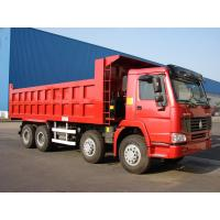 Quality HOWO 8*4-371HP-27cbm-Dump tipper truck-one bed for sale