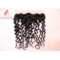 Quality Thin Skin 13x4 Lace Frontal Virgin Italian Hair Italian Curly Thick Bottom for sale