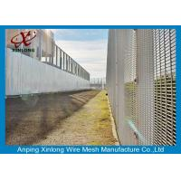 Quality Professional Hot Dipped Galvanized Welded Mesh Security Fencing For Protection 2.0m Height for sale
