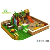Sand Land Indoor Soft Playground Equipment For Children 3 - 14 Years Old for sale