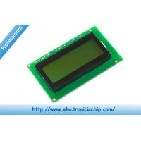 Quality Serial Enabled Character LCD Display 20x4 LCD - Black on Green 5V Display for sale