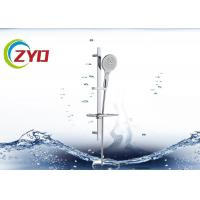 Quality Reliable Bathroom Shower Sets High Grade SS Material Plated Surface for sale